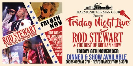 Rod Stewart & The Best of Britain Tribute Show  tickets