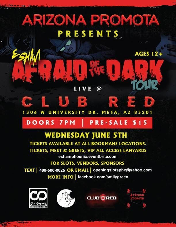 Esham Live in Phoenix Wednesday June 5th@Club Red in Mesa 12 and up show