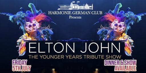 ELTON – THE YOUNG YEARS Tribute Show