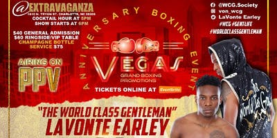 """LaVonte """"WCG"""" Earley Live Pro Boxing Event 5/25/19"""