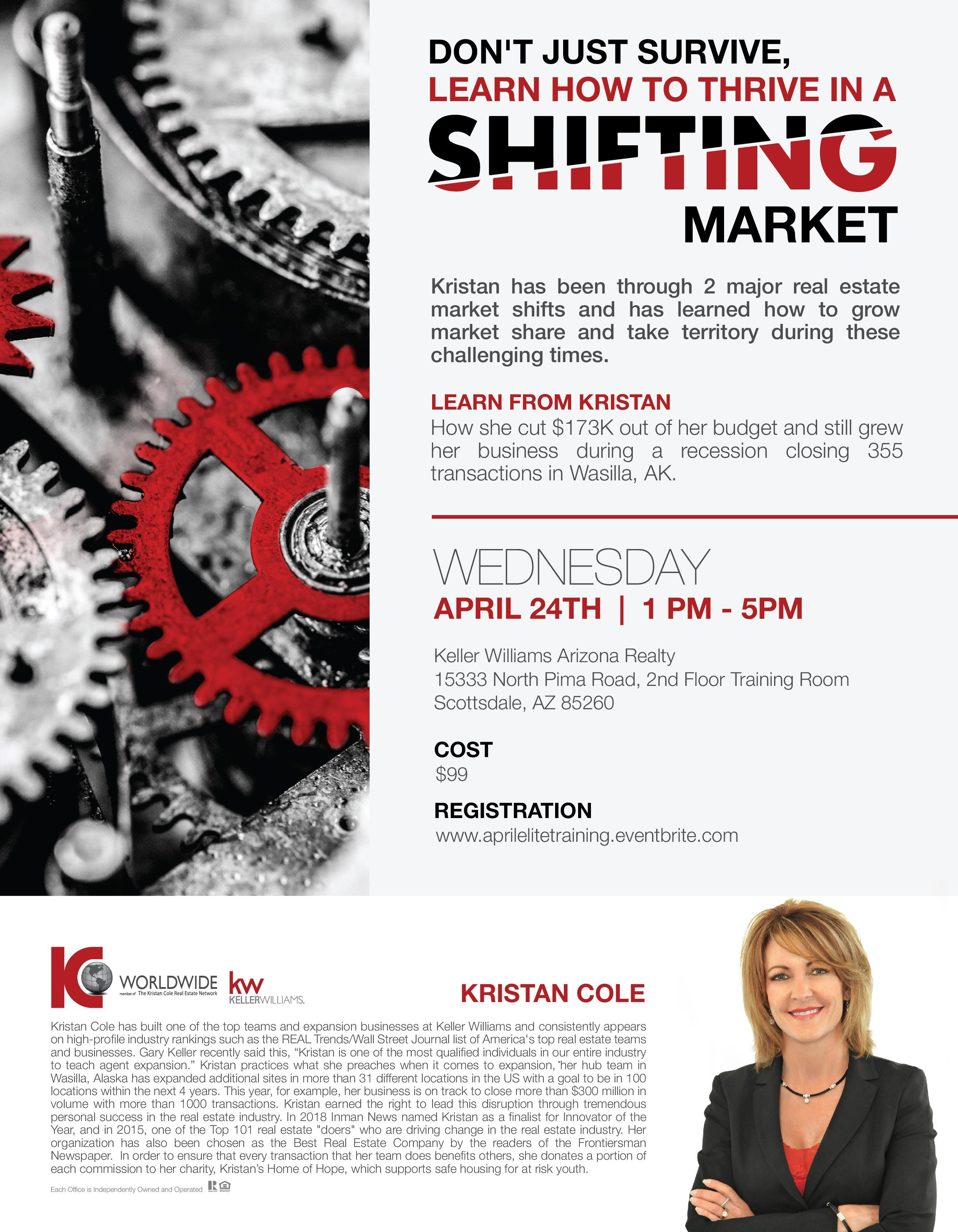 Don't Just Survive, Learn How to Thrive in a Shifting Market!