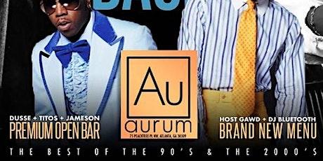 Throwback Thursday + Open Bar  tickets