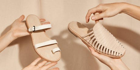 WORKSHOP | Leather Sandal Making with The Shoe Camaraderie  tickets