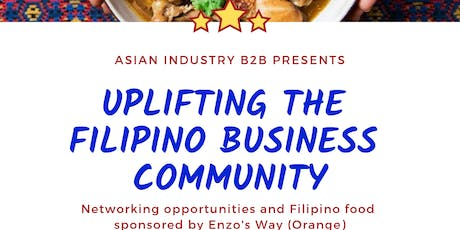 "AIB2B Presents ""Uplifting The Filipino Business Community"" tickets"