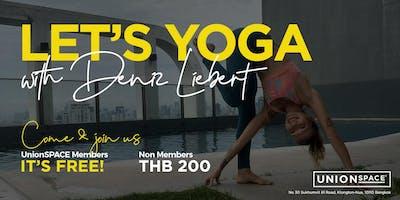 Yoga with Deniz Liebert: Time to Relax