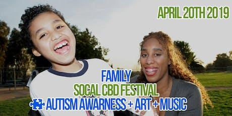 1st Annual So Cal CBD Festival Autism Awareness + Art + Music  tickets