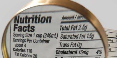 Let's Talk: Nutritional Information Panels