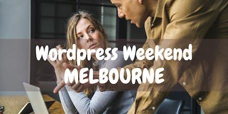 Wordpress Weekend Melbourne tickets