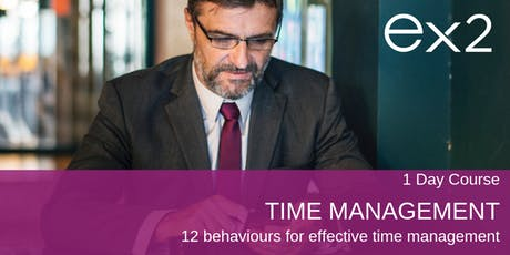 Time Management - 12 behaviours for effective time management tickets