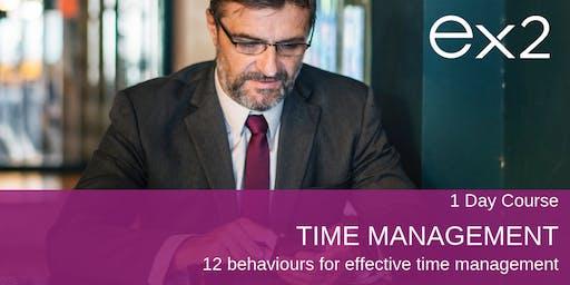 Time Management - 12 behaviours for effective time management