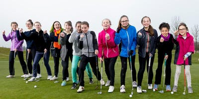 Girls Golf Rocks coaching course at Bedfordshire Golf club