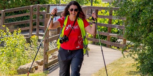 British Nordic Walking Exel Challenge Event : Fourteen Locks, Newport, Wales : Sunday 30 June