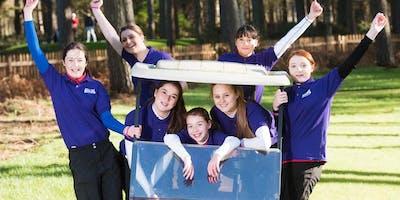Girls Golf Rocks coaching course at Abbey Hill Golf club