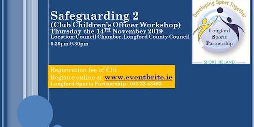 Safeguarding 2 - Club Children's Officer Workshop