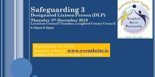 Safeguarding 3 - Designated Liaison Person (DLP)