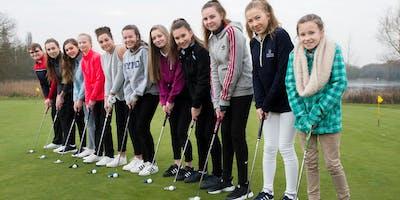 Girls Golf Rocks coaching course at St Mellion Golf club