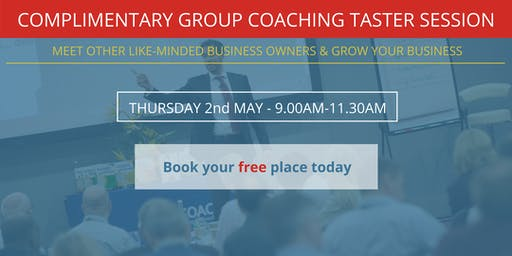 Complimentary Group Coaching Taster Session