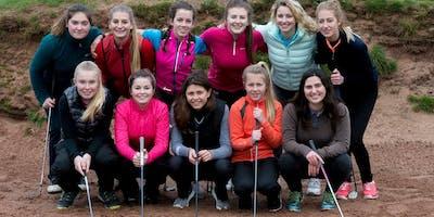 Girls Golf Rocks coaching course at Barrow Golf club