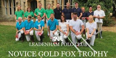 Novice Gold Fox Trophy