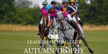Autumn Trophy tickets