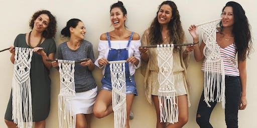 Macrame Wall Hanging Workshop @The Sorting Office