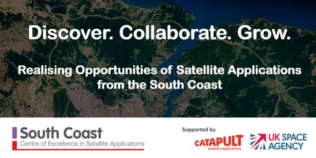 Discover. Collaborate. Grow: Realising Opportunities of Satellite Applications from the South Coast tickets