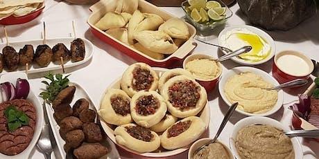 27/06 Culinária Árabe, 19h às 22h - R$195,00 ingressos
