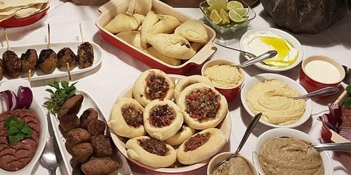 27/06 Culinária Árabe, 19h às 22h - R$195,00