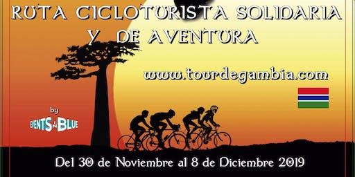 TOUR DE GAMBIA - RUTA CICLOTURISTA SOLIDARIA Y DE AVENTURA