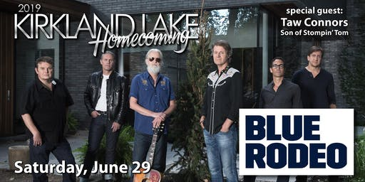 Blue Rodeo & Stompin' Taw Connors
