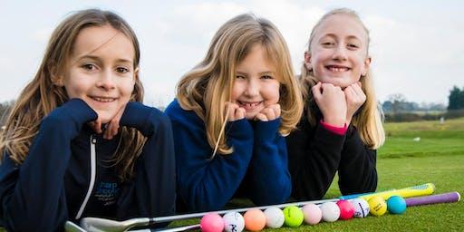 Girls Golf Rocks coaching course at Garon Park Golf Complex