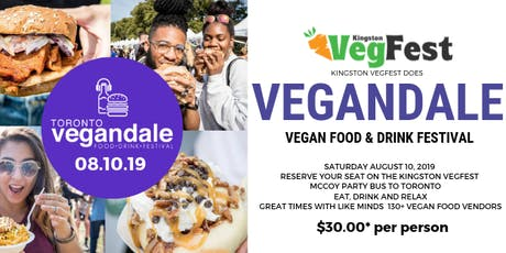 Vegandale Bus Trip from Kingston tickets