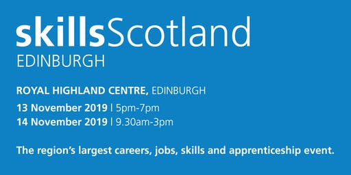 Skills Scotland Edinburgh 2019 - Family / Individual Registration
