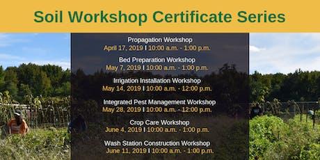 Soil Workshop Certificate Series tickets