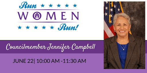 Coffee With Councilmember Jennifer Campbell