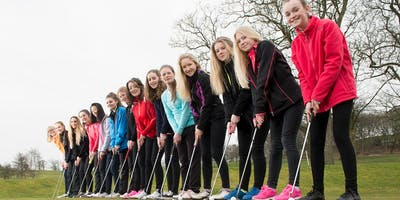 Girls Golf Rocks coaching course at Cirencester Golf club
