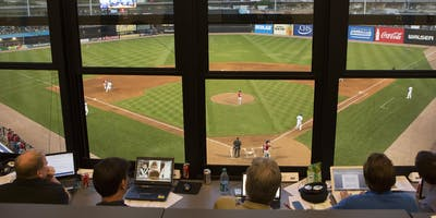 St. Paul Saints Honorary Media Member for a Day