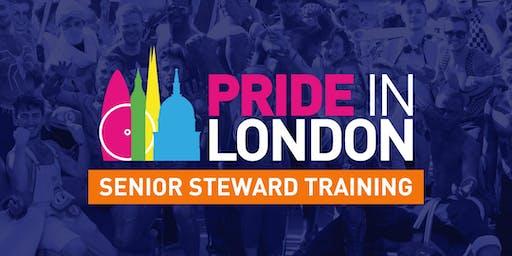 Senior Steward Training - S6