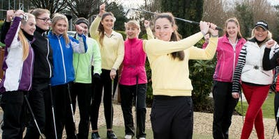 Girls Golf Rocks coaching course at Cams Hall Golf club