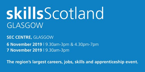Skills Scotland Glasgow 2019 - School / College Registration