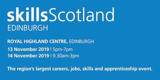 Skills Scotland Edinburgh 2019 - School / College Registration