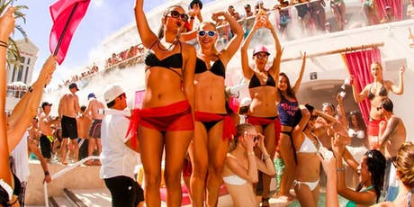 Drais Beach Club - HOTTEST Vegas Rooftop Pool Party! - 8/10 tickets