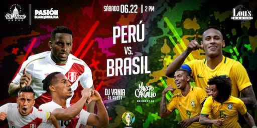 PERU VS BRASIL (COPA AMERICA 2019)
