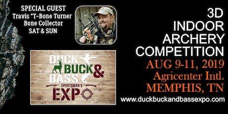 Duck Buck & Bass Sportman's Expo tickets