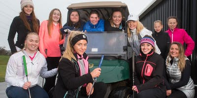 Girls Golf Rocks coaching course at Stonelees Golf centre