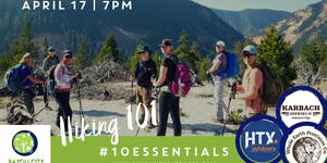 BCO & HTXO present Houston Outdoor Live: Hiking 101