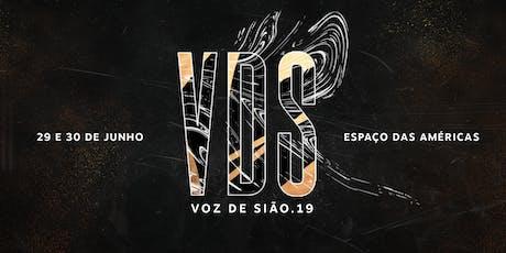 Conferência Voz de Sião 2019 ingressos