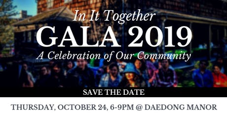 Gala 2019: In It Together tickets