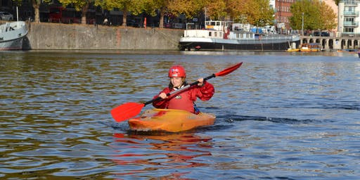2 Day Canoe and Kayak Course in Bristol (including Paddle start/discover award) beginners and improvers