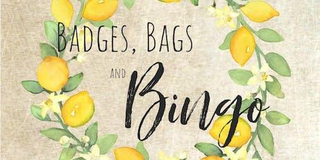 2019 Badges, Bags, & Bingo tickets
